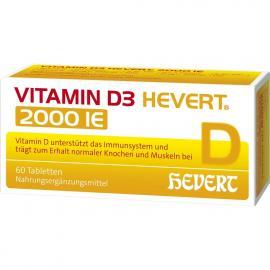 VITAMIN D3 HEVERT 2000 IE