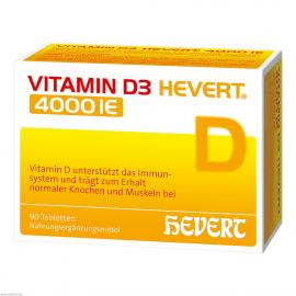 VITAMIN D3 HEVERT 4000 IE