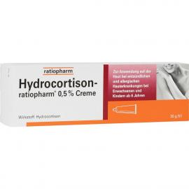HYDROCORTISON RATIO 0.5% CREME